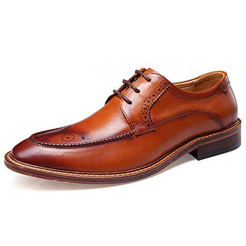 Brock tallada zapatos hombres zapatos/Zapatos casuales de negocios/vintage British marea B