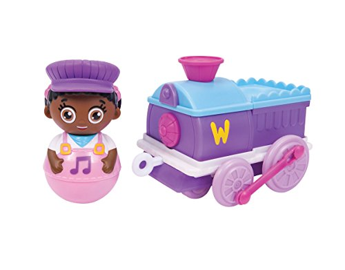 Weebles Winnie & Train Toy (Baby Train Conductor Outfit)