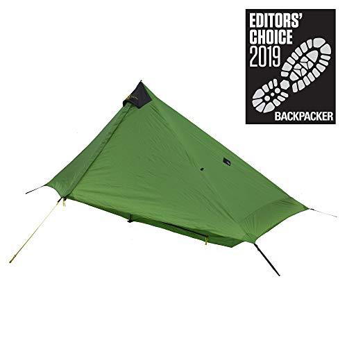 Six Moon Designs Lunar Solo - 26 oz. Green, 1 Person Tent - 2019 Version