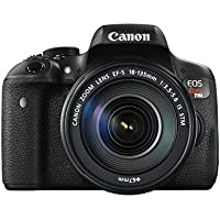 Canon EOS Rebel T6i 24.2MP Full HD 1080p Wi-Fi Digital SLR Camera with 18-135mm Lens - Refurbished
