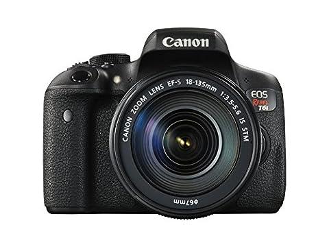 Canon EOS Rebel T6i Digital SLR with EF-S 18-135mm IS STM Lens - Wi-Fi Enabled (Digital Rebel Body)