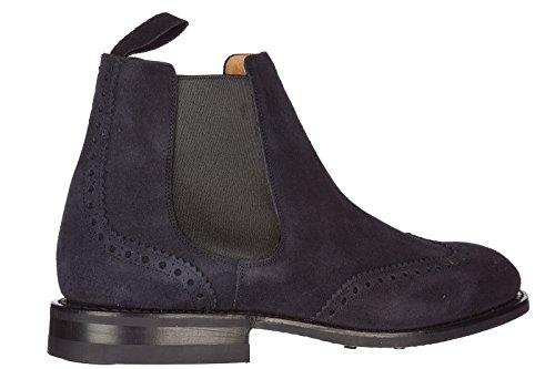 ravenfield Boots Stiefeletten Churchs Wildleder Herren blu IqORw8xfE
