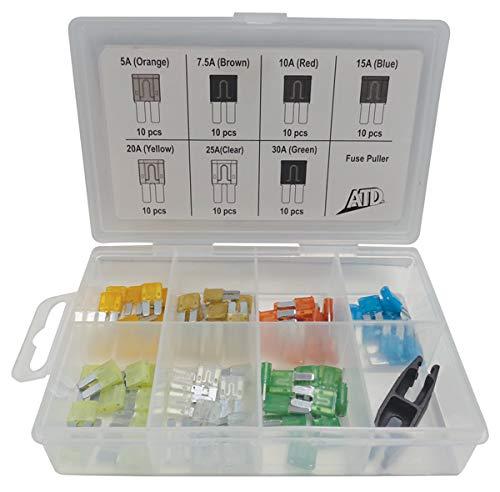 ATD Tools 71Pc Micro-2 Fuse Assortment ATD-339