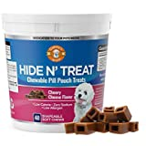 Gabby's Wink Hide N' Treat Cheese-Flavored Chewable Pill Pouches for Dogs - Low Calorie, Zero Sodium, Does not Contain Corn, Wheat, Gluten or Soy