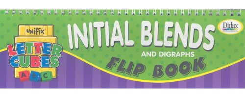 Initial Blends and Digraphs Flip Book