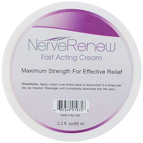 Life Renew: Cream - Topical Nerve Pain Relief Formula - Breakthrough Delivery System for Fast Acting Results
