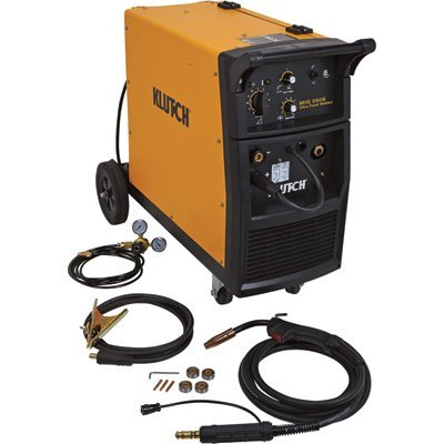 Klutch MIG 250S Wire-Feed Welder — 250 Amp, 230 Volt