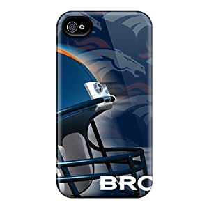 Durable Hard Phone Cases For Iphone 6plus (KbQ4222TCsT) Provide Private Custom Vivid Denver Broncos Image