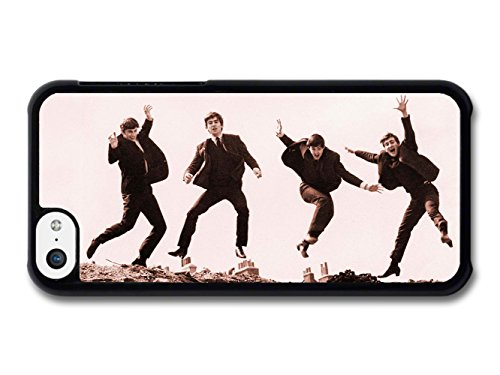 The Beatles Jumping Sepia Rockstars coque pour iPhone 5C