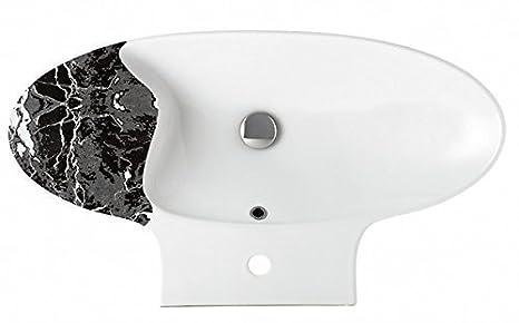 Vasche Da Bagno Zefiro : Zefiro scarabeo r mensola lavabo con ripiano weiß ablage