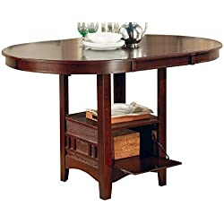 Lavon Counter Height Table Warm Brown