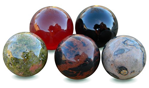 12mm Semi Precious Stone Set (5 Stone ()
