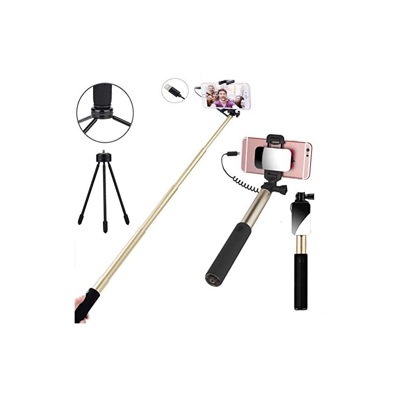 Selfie Stick,Selfie Stick Wired Control