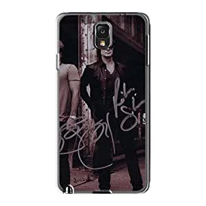 Samsung Galaxy Note3 LKM4427NmtU Support Personal Customs Colorful Bon Jovi Series Shock Absorbent Cell-phone Hard Cover -DrawsBriscoe