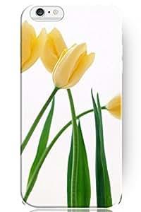 NEW Case For Samsung Galaxy S3 Mini I8190 Fashion Design Yellow Tulip Hard Cases