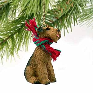 Airedale Terrier Miniature Dog Ornament 31