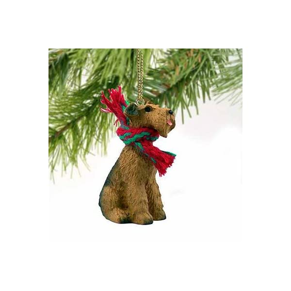 Airedale Terrier Miniature Dog Ornament 1