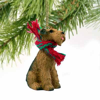 - Airedale Terrier Miniature Dog Ornament