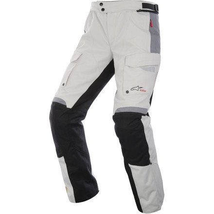 Alpinestars Bogota Drystar Men's Pants (Light Grey/Black, Large)