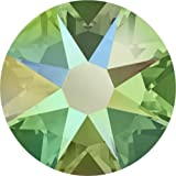 2000, 2058 & 2088 Swarovski Flatback Crystals Non Hotfix Peridot Shimmer | SS20 (4.7mm) - Pack of 1440 (Wholesale) | Small & Wholesale Packs | Free Delivery