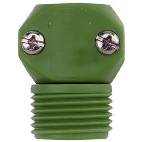 Gilmour 35MGT Green Thumb Poly Male Hose Coupler, 1/2-Inch