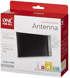 One For All SV9335, Antena de TV Amplificada para Interior ...