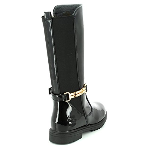 Riding 32 13 Alto Boots Nero Vernice Kelly Lk7650 Diletta Stretch db01 uk Panel Lelli wqzPfOc