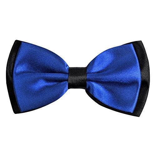 Bowtie for Men Fancy Adjustable Pre Tied Wedding Party Bow Ties, Royal Blue