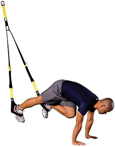 Apolyne Just Up Gym Tensores Elásticos para Ejercicios en Suspensión, Unisex Adulto, Negro, Talla Única