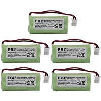 5 Pack of AT&T CL82203 Battery - Replacement for AT&T Cordless Phone Battery (800mAh, 2.4V, NI-MH)