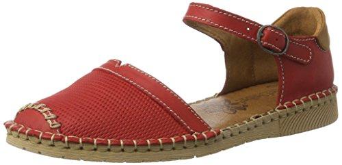 multi Rot Open Josef Sofie Rot Sandals 19 Women's Seibel Toe nIaIq0zg