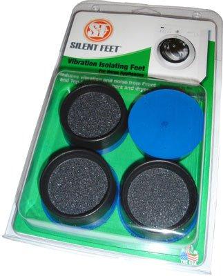 Premium Ocean Blue Silent Feet Anti Vibration Pads For