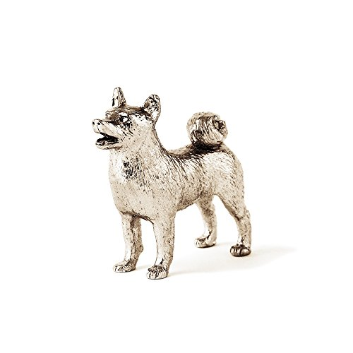 Norwegian Buhund Made in UK Artistic Style Dog Figurine Collection