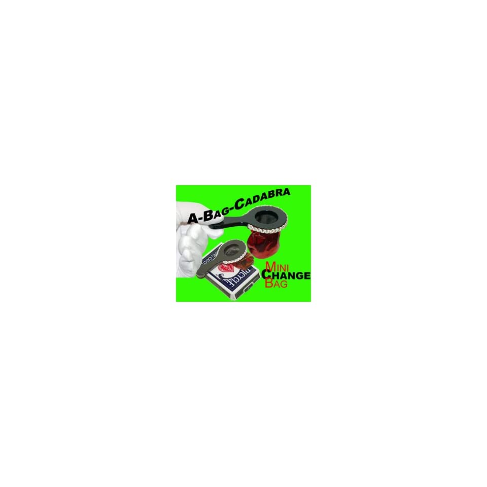 Bag Cadabra Magic trick toy tricks silks card vanish