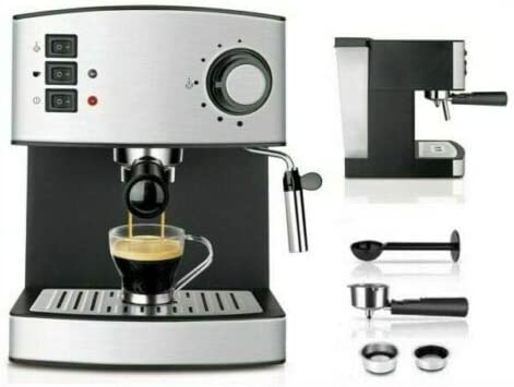 ALL SHOP HM-5780 Hoomei - Cafetera de Espresso y Capuchino (850 W ...