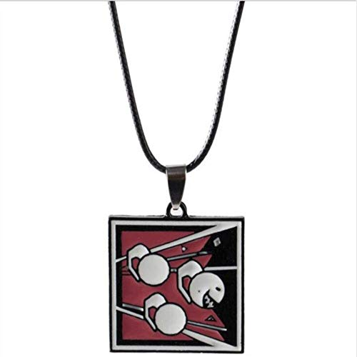 - AEmber BK - R6 Fuze Keychain and Pendant Necklace   Rainbow Six Siege Spetsnaz (Necklace)