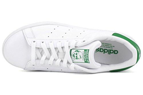 adidas Stan Smith, Sandalias con Plataforma Unisex, Blanco, 4.5 EU Runwht/Runwhi/Fairwa