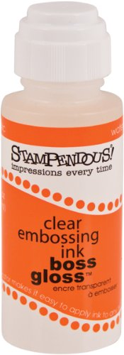STAMPENDOUS Stamp-N Stuff Boss Gloss Embossing Ink 2 Ounces-