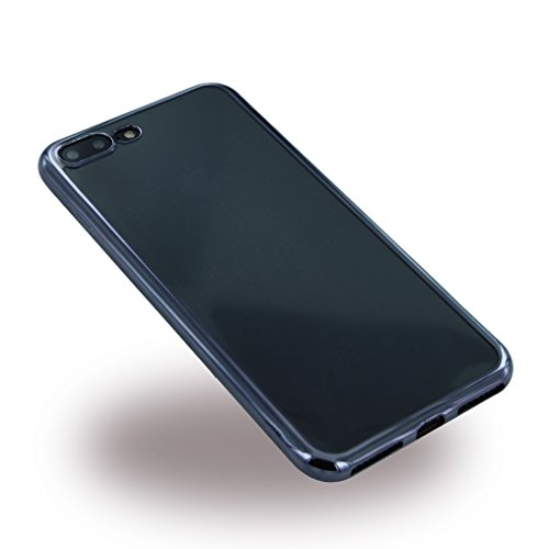 ureparts–electroplating TPU Cover/Case/Coque en silicone–Apple iPhone 7Plus–Noir