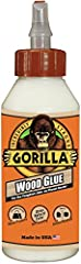 Gorilla Wood Glue is the adhesive that woodworkers, carpenters and hobbyists trust for their woodworking projects. Gorilla Wood Glue, a PVA glue, offers the benefits of an easy-to use, water-based adhesive, with the holding power Gorilla is k...