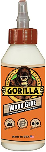 - Gorilla Wood Glue, 8 ounce Bottle