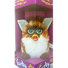 Furby Giraffe Generation 2 - Orange with Yellow Spotted Body
