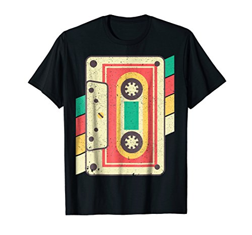 70s 80s Cassette Tape Shirt Costume Outfit Party -