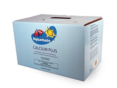 Aquamate 1-2820 Calcium Plus for Swimming Pools, 20-Pound -