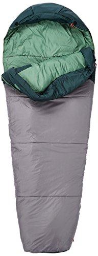 (The North Face Aleutian 0F/-18C Sleeping Bag Darkest Spruce/Zinc Grey (Regular Left Hand))