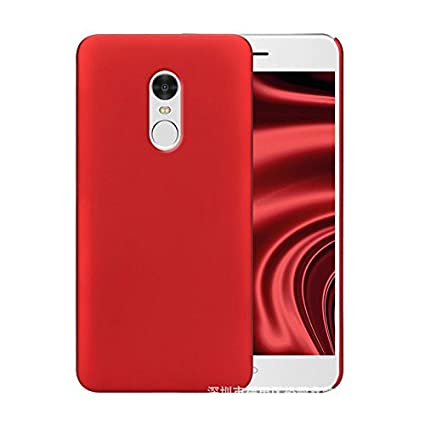 size 40 74f3a c2dae Mercator Back Cover for Xiaomi Redmi Note 4 - Red: Amazon.in ...