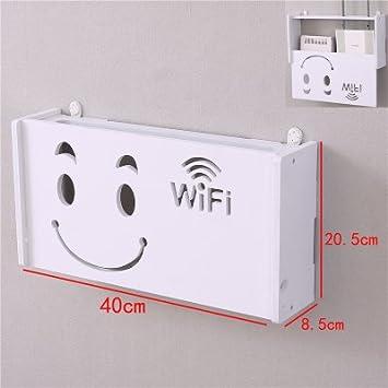 Router Wifi Caja de almacenamiento de TV/Estante Estante de ...