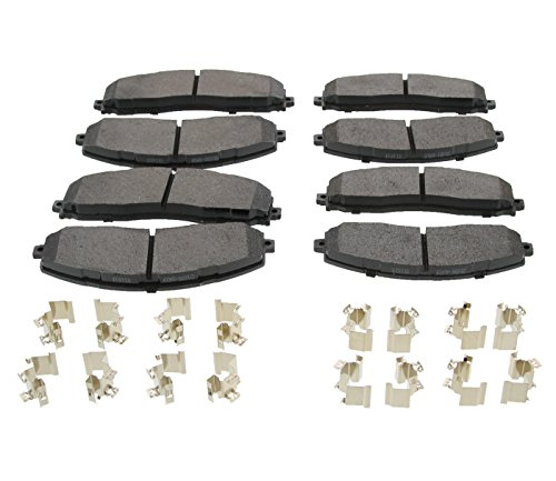 Race Driven Super Duty Front & Rear Brake Pads for Ford F-250 F250 250 F-350 F350 350 / OEM DC3Z-2001-E DC3Z-2200-D