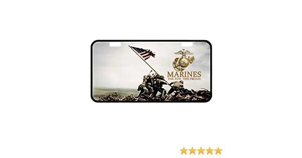 United States Marine Corps License Plate USMC