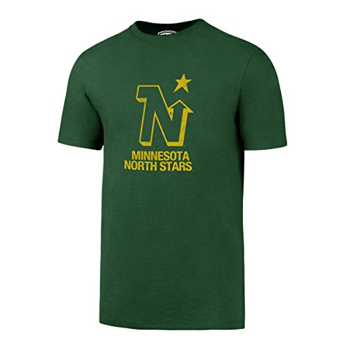 - NHL Minnesota North Stars Men's OTS Rival Tee, Large, Kelly